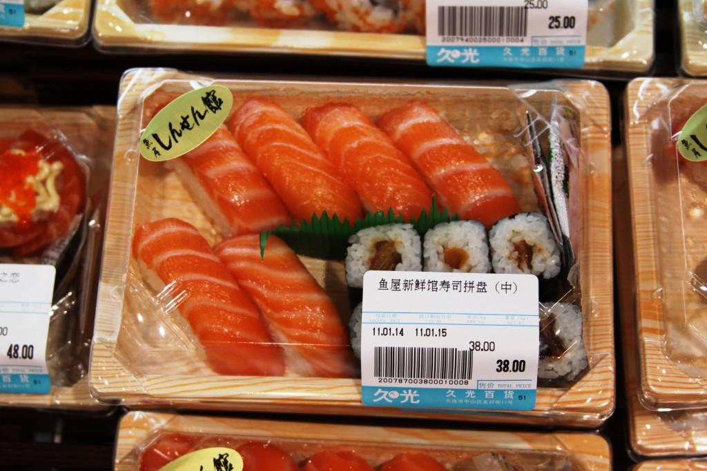laks sushi kina