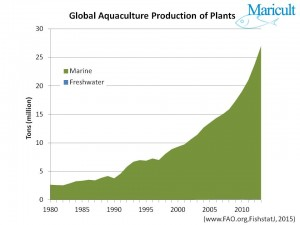 Global Production of Aquatic Plants
